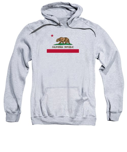 The Bear Flag - State Of California Sweatshirt by War Is Hell Store