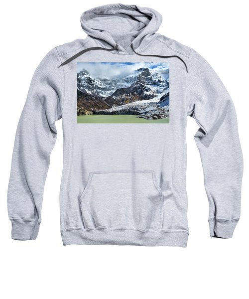 The Black Snowdrift Glacier Sweatshirt