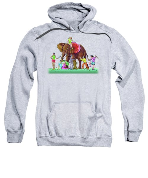 The Blind And The Elephant Sweatshirt
