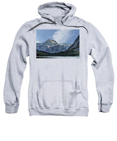 The Blue Mountains Of Glacier National Park Sweatshirt