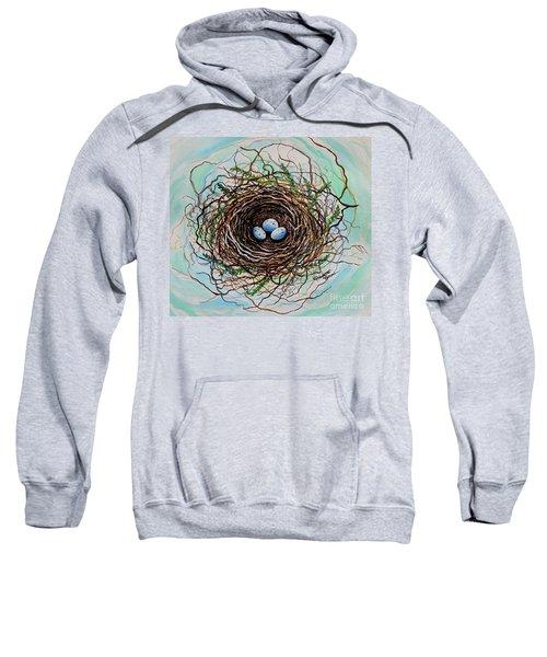 The Botanical Bird Nest Sweatshirt