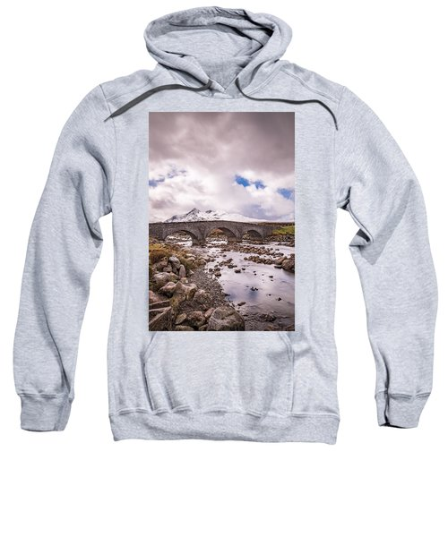 The Bridge At Sligachan On Skye Sweatshirt