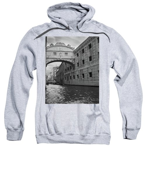 Sweatshirt featuring the photograph The Bridge Of Sighs, Venice, Italy by Richard Goodrich