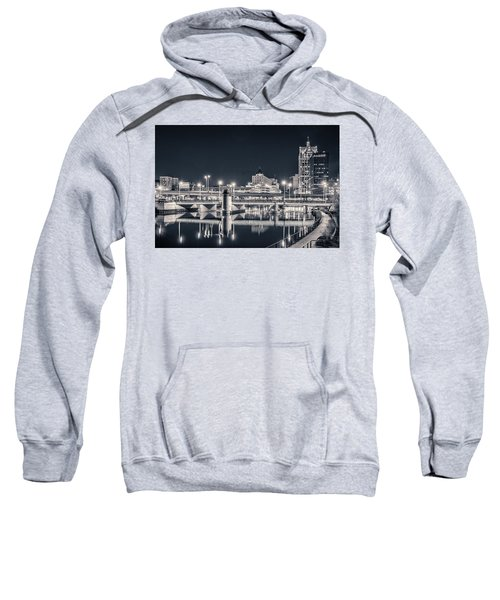 Sweatshirt featuring the photograph The Bright Dark Of Night by Bill Pevlor