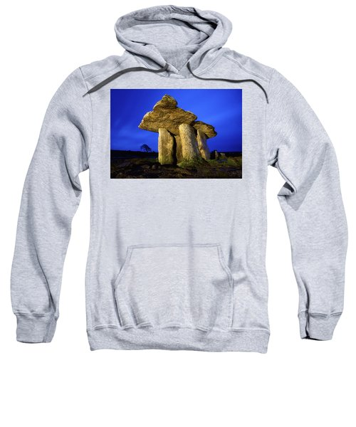 The Burren, County Clare, Ireland Sweatshirt