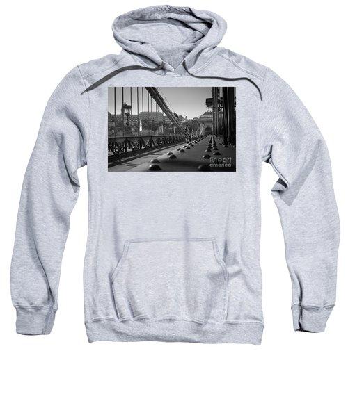 The Chain Bridge, Danube Budapest Sweatshirt