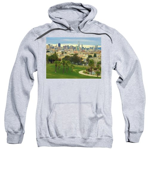 The City From Dolores Park Sweatshirt