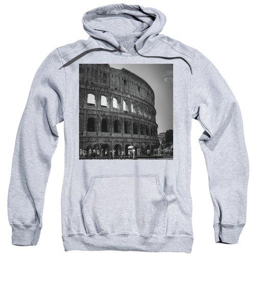 The Colosseum, Rome Italy Sweatshirt