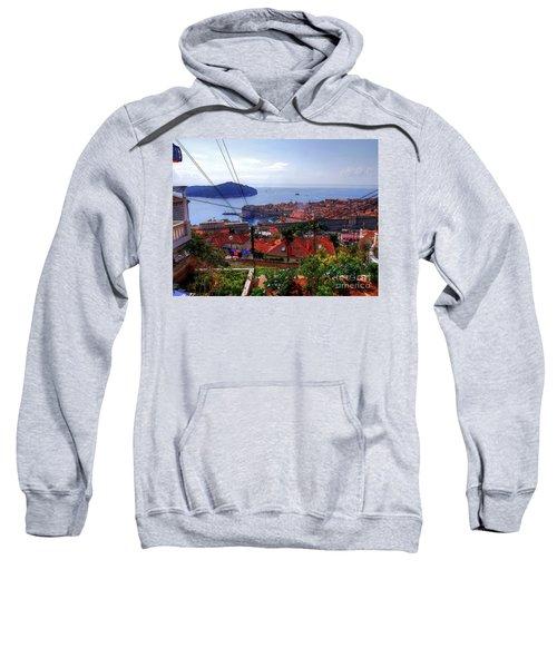 The Colourful City Of Dubrovnik Sweatshirt