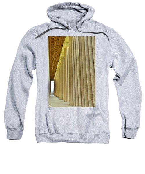 The Columns At The Parthenon In Nashville Tennessee Sweatshirt