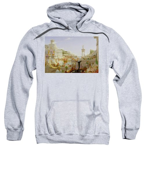 The Course Of Empire - The Consummation Of The Empire Sweatshirt