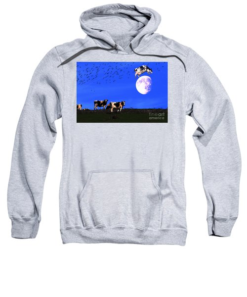 The Cow Jumped Over The Moon Sweatshirt
