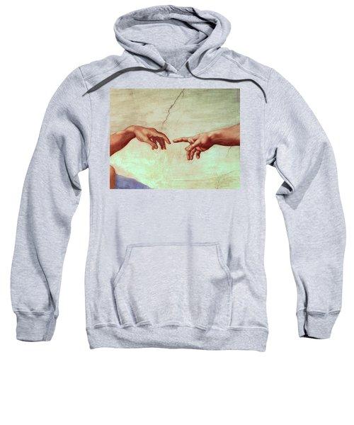 The Creation Of Adam, Detail Sweatshirt