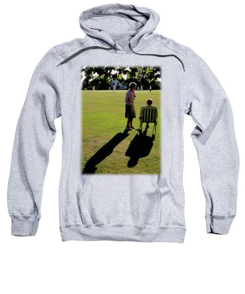 The Cricket Match Sweatshirt by Jon Delorme