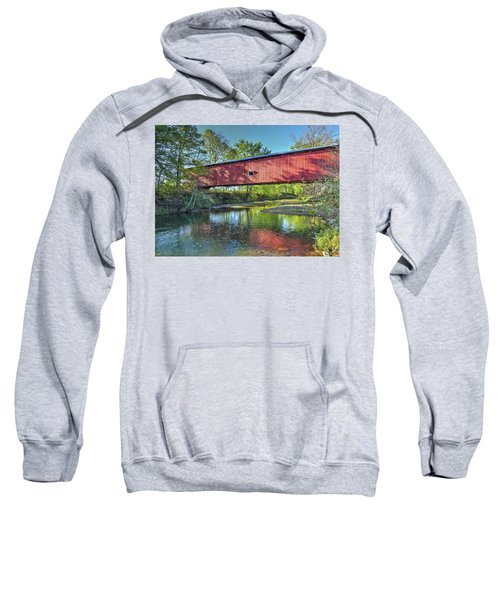 The Crooks Covered Bridge - Sideview Sweatshirt