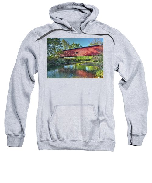 The Crooks Covered Bridge - Sideview Sweatshirt