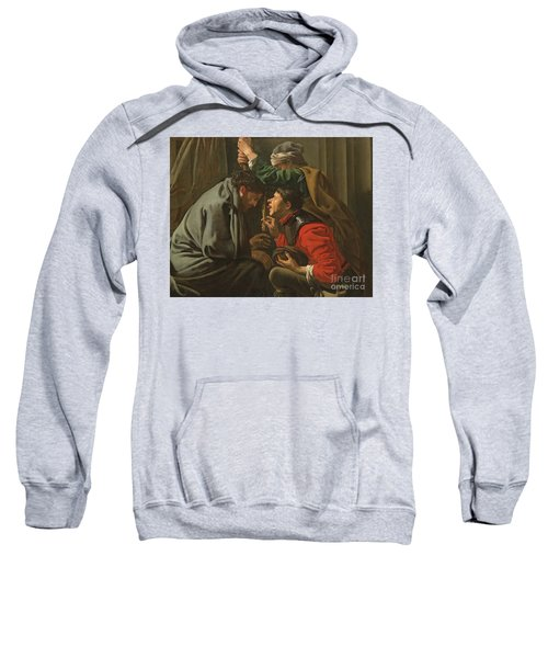 The Crowning With Thorns And The Mocking Of Christ Sweatshirt