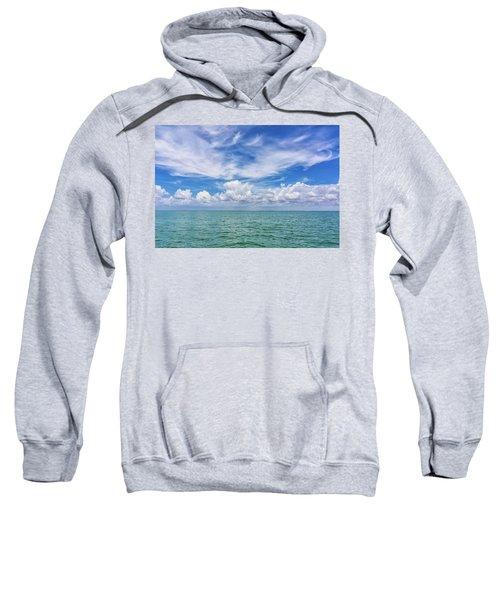 The Dance Of Clouds On The Sea Sweatshirt