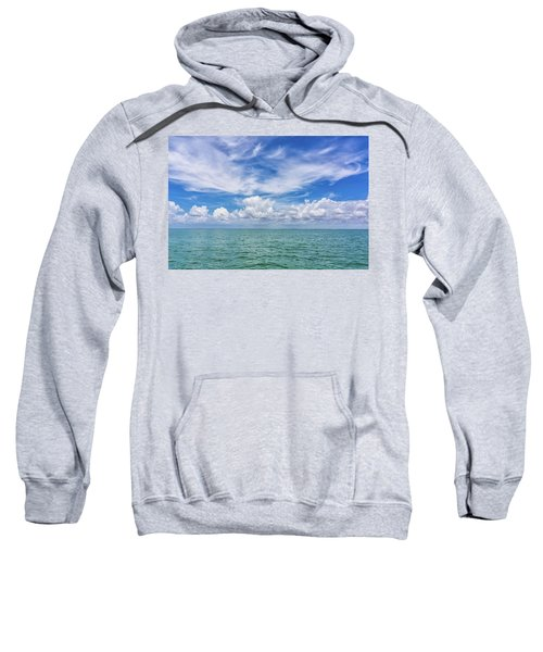The Dance Of Clouds On The Sea Sweatshirt