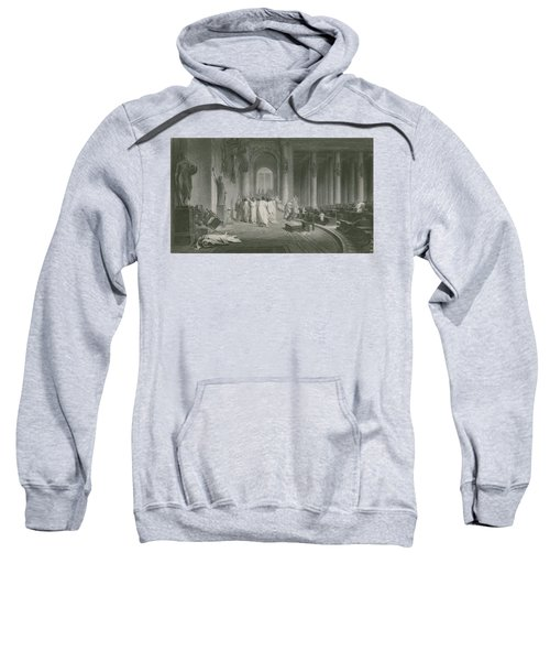 The Death Of Julius Caesar Sweatshirt