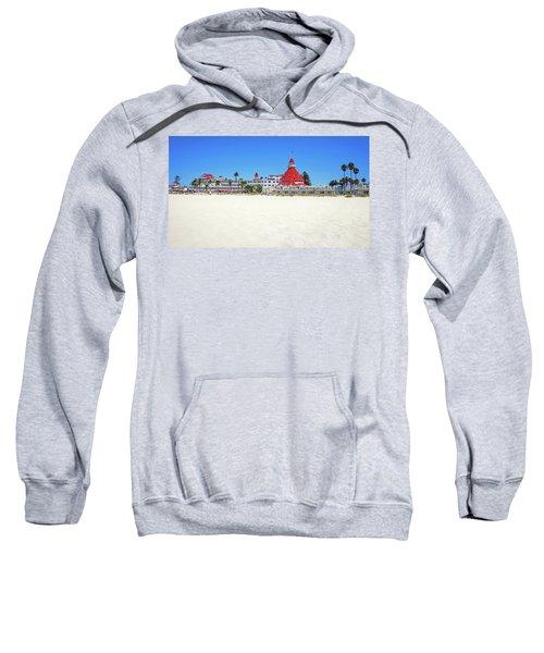 The Del Coronado Hotel San Diego California Sweatshirt
