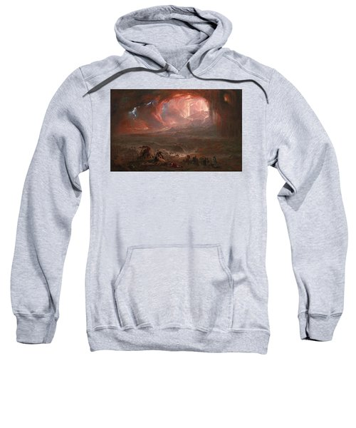 The Destruction Of Pompei Sweatshirt