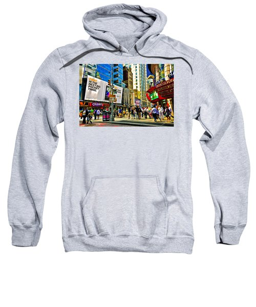 The Dirty Old City -nyc Sweatshirt