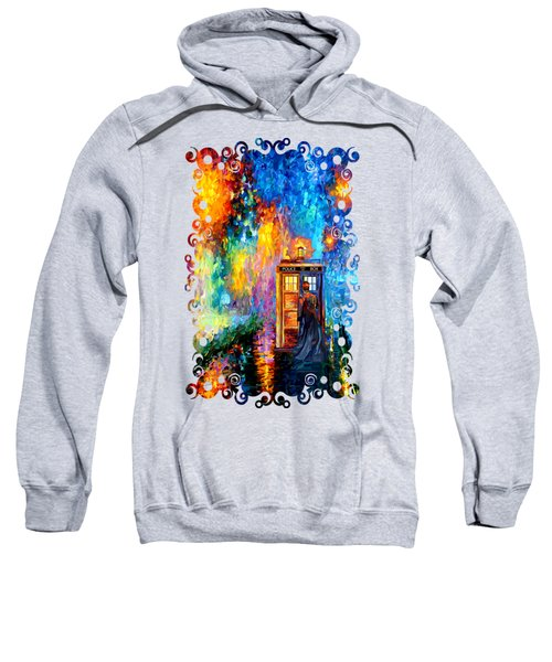 The Doctor Lost In Strange Town Sweatshirt