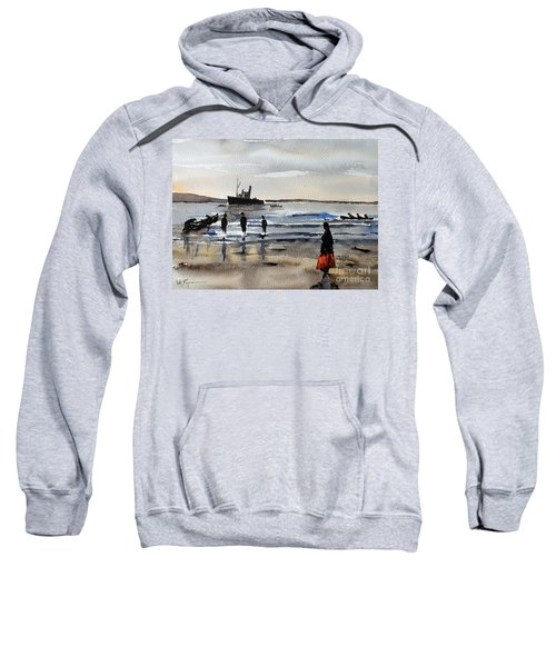 The Dun Aengus Off Aran, Galway Sweatshirt