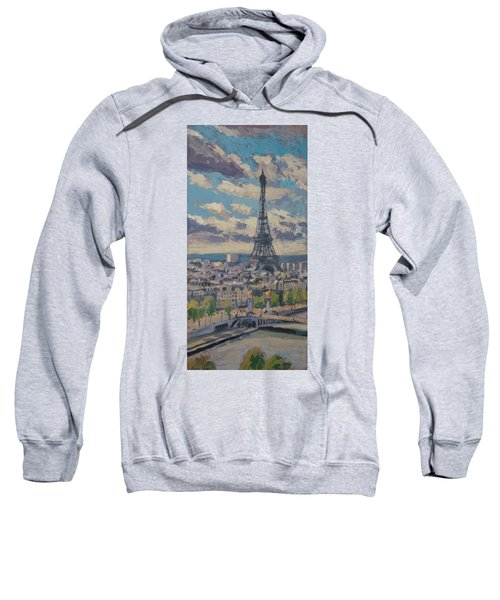 The Eiffel Tower Paris Sweatshirt
