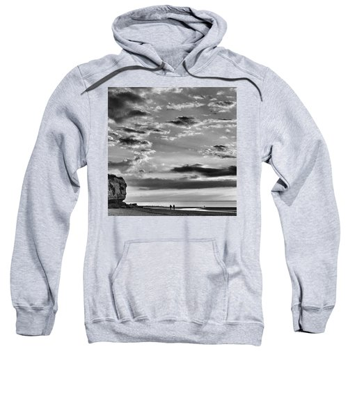 The End Of The Day, Old Hunstanton  Sweatshirt