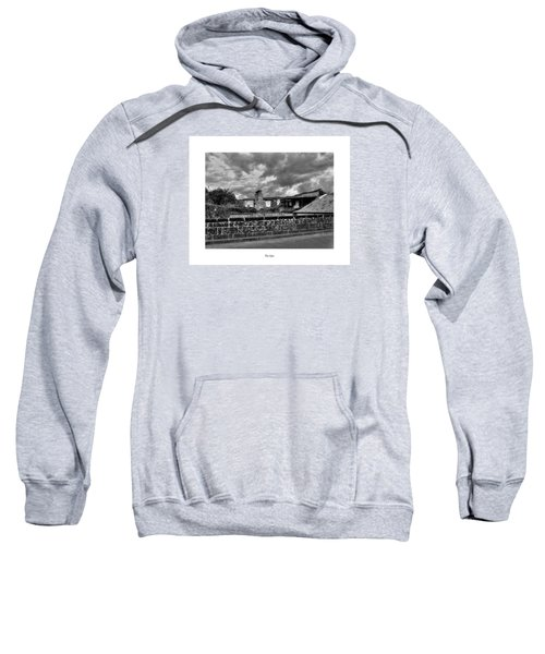 Sweatshirt featuring the photograph The Epic by Joseph Amaral