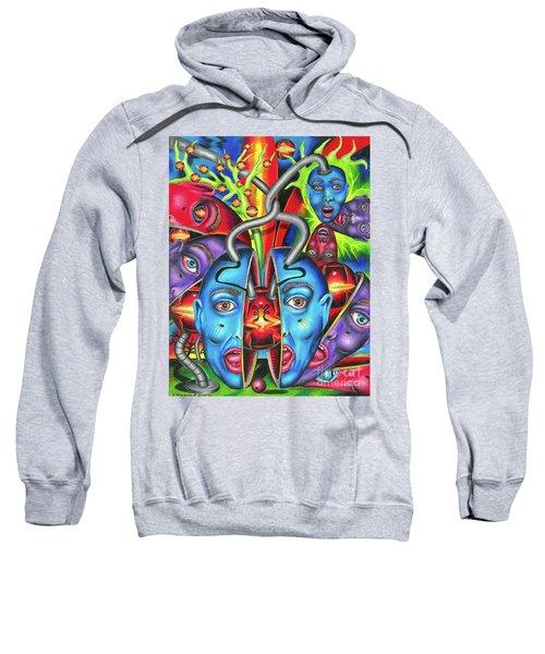 The Esoteric Force Of Molecular Mentality Sweatshirt