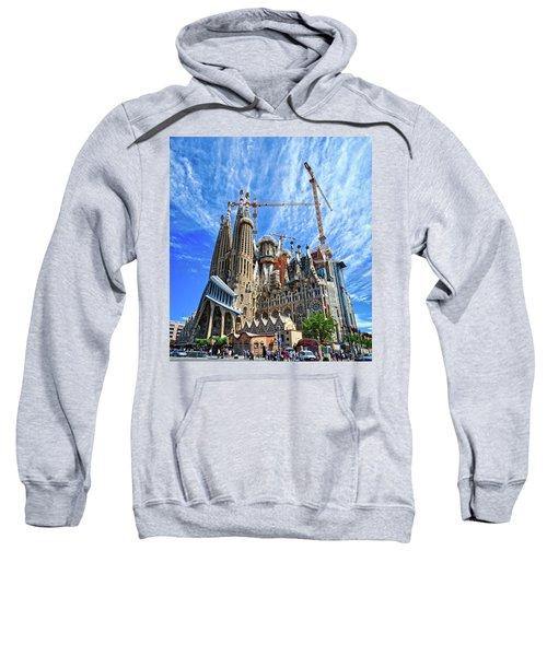 The Expiatory Temple Of The Holy Family Sweatshirt