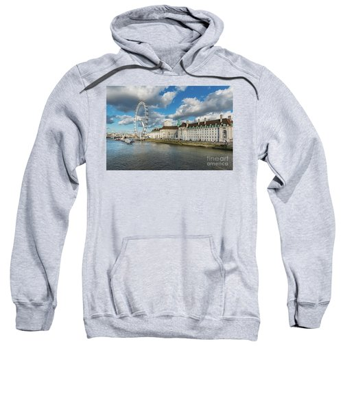 The Eye London Sweatshirt by Adrian Evans