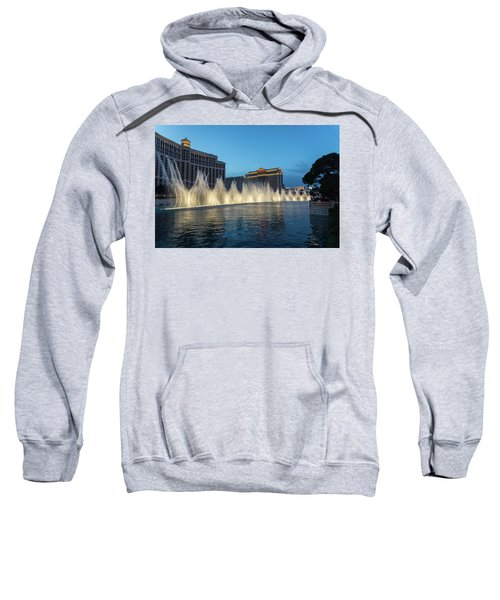 The Fabulous Fountains At Bellagio - Las Vegas Sweatshirt