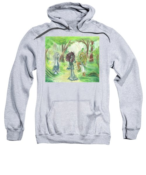 The Fae - Sylvan Creatures Of The Forest Sweatshirt
