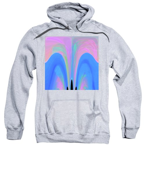Sweatshirt featuring the digital art The Fairytale by Mihaela Stancu