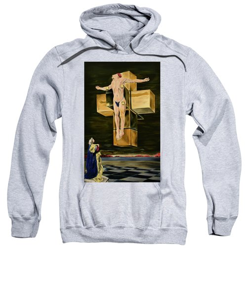 The Father Is Present -after Dali- Sweatshirt