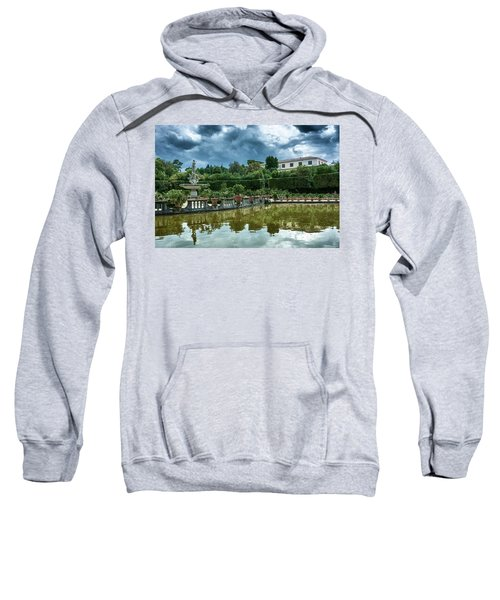 The Fountain Of The Ocean At The Boboli Gardens Sweatshirt