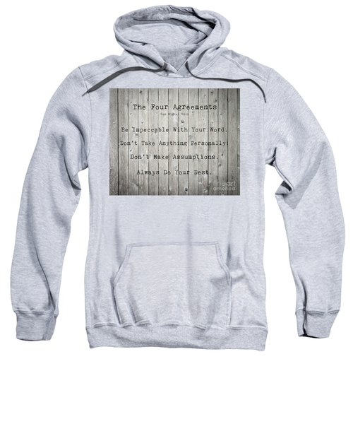 The Four Agreements 12 Sweatshirt