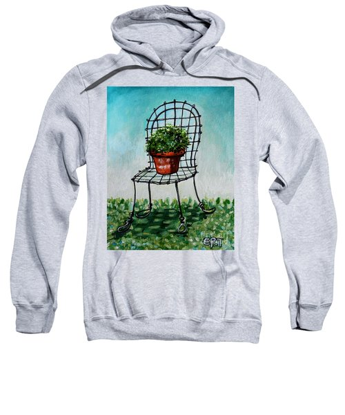 The French Garden Cafe Chair Sweatshirt