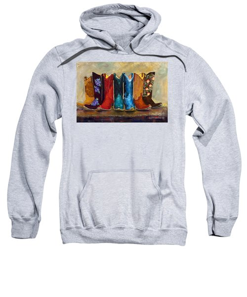 The Girls Are Back In Town Sweatshirt