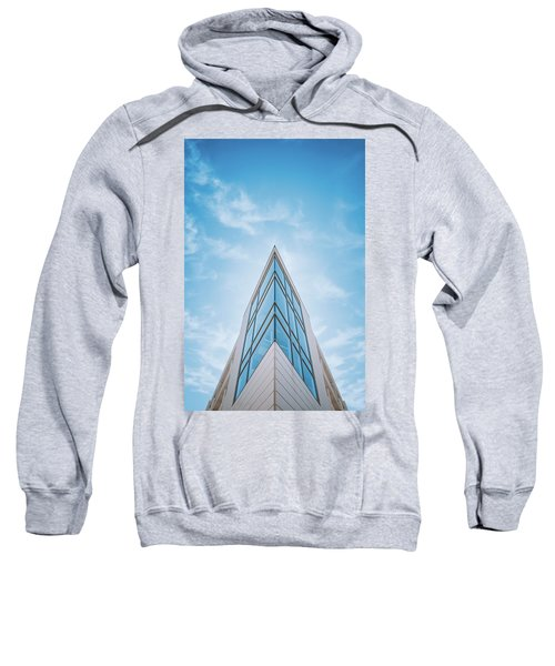 The Glass Tower On Downer Avenue Sweatshirt
