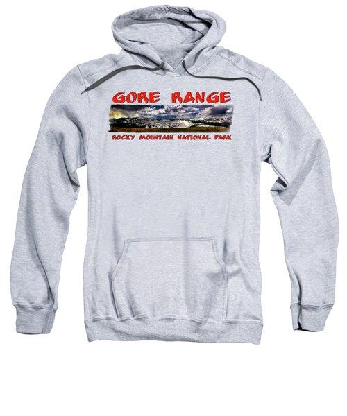 The Gore Range In Panorama Sweatshirt