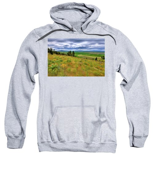 The Grasses Of Kamiak Butte Sweatshirt