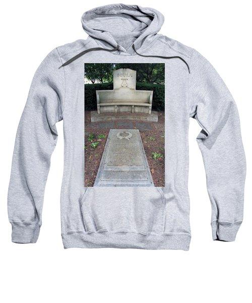 The Grave Of John Philip Sousa -- America's March King Sweatshirt