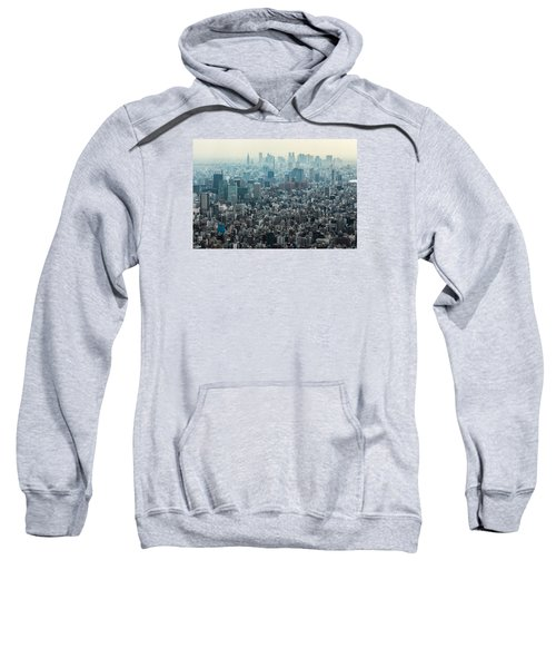 The Great Tokyo Sweatshirt by Peteris Vaivars