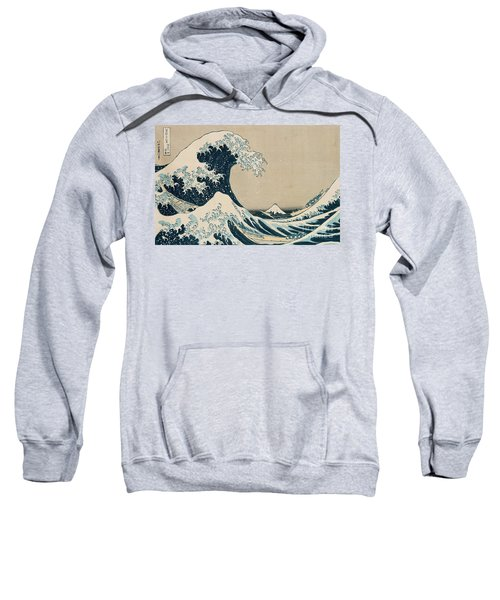 The Great Wave Of Kanagawa Sweatshirt