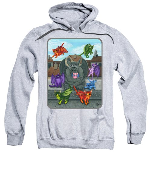 The Guardian Gargoyle Aka The Kitten Sitter Sweatshirt